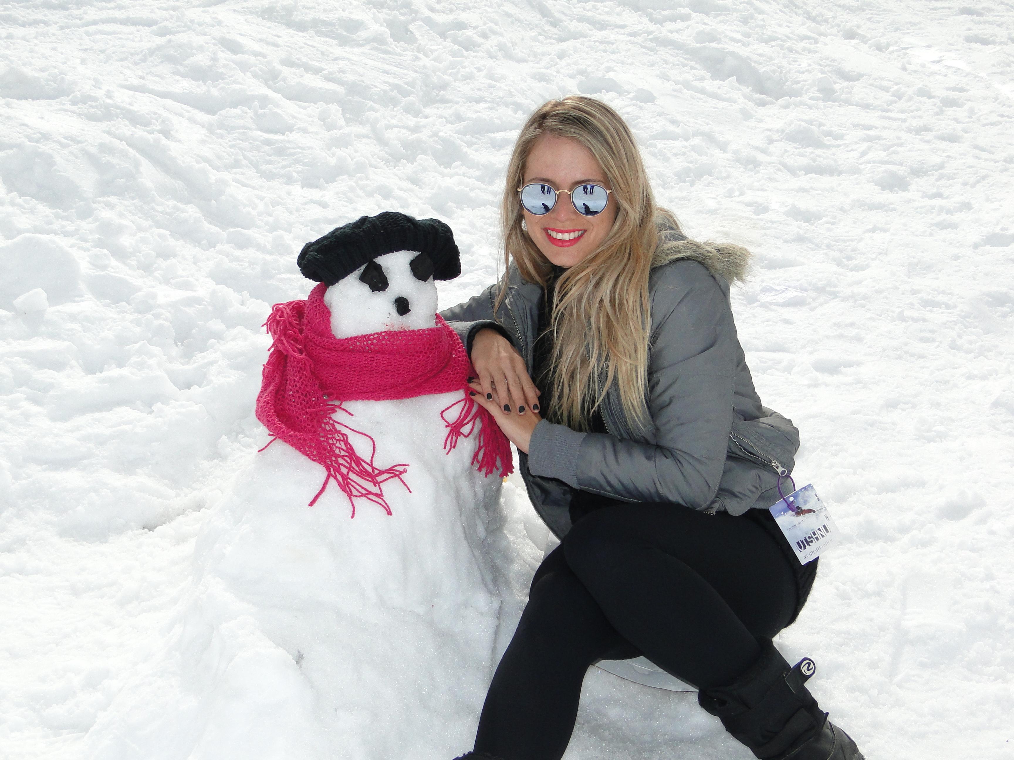 Boneco de neve mais feio de todos os tempos