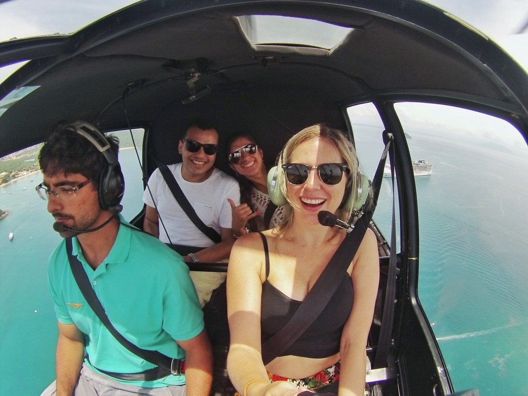 voo helicóptero Búzios