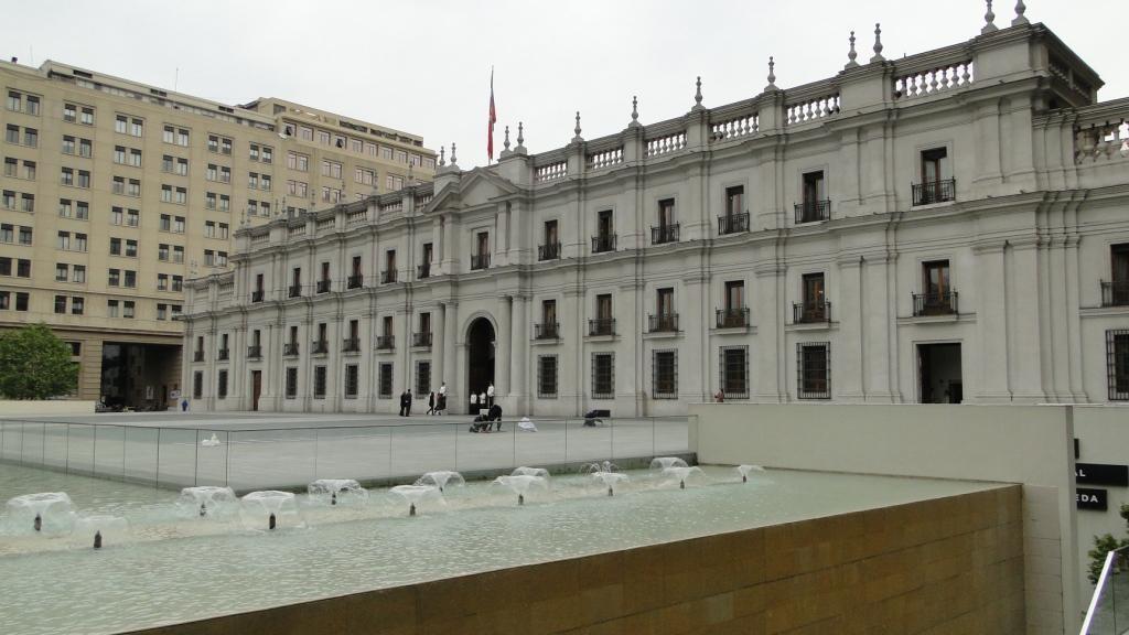 la moneda em Santiago