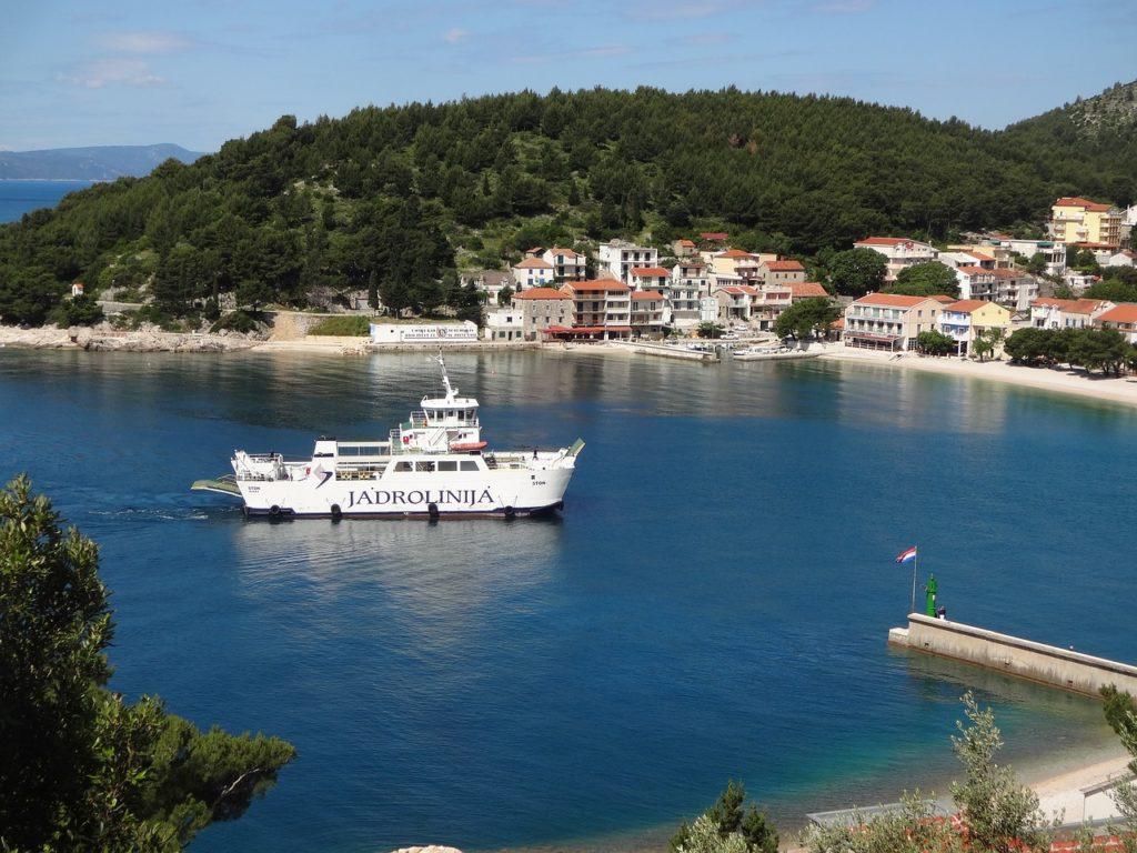 roteiro croacia ferry