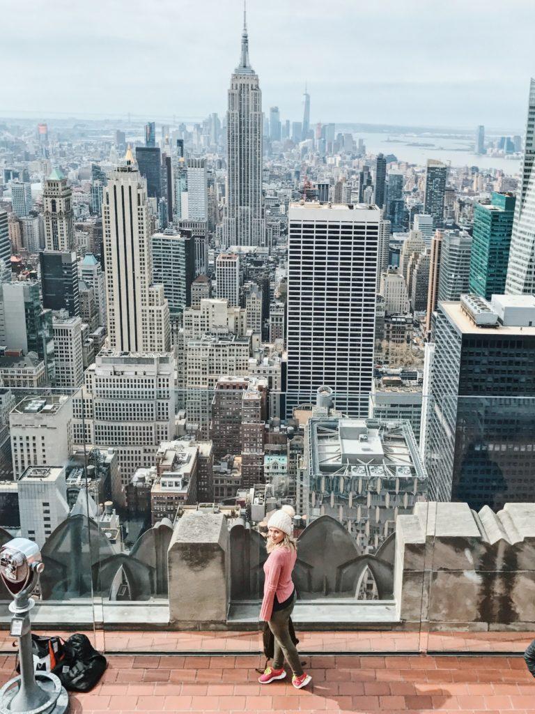 tirar fotos em nova york - top of the rock