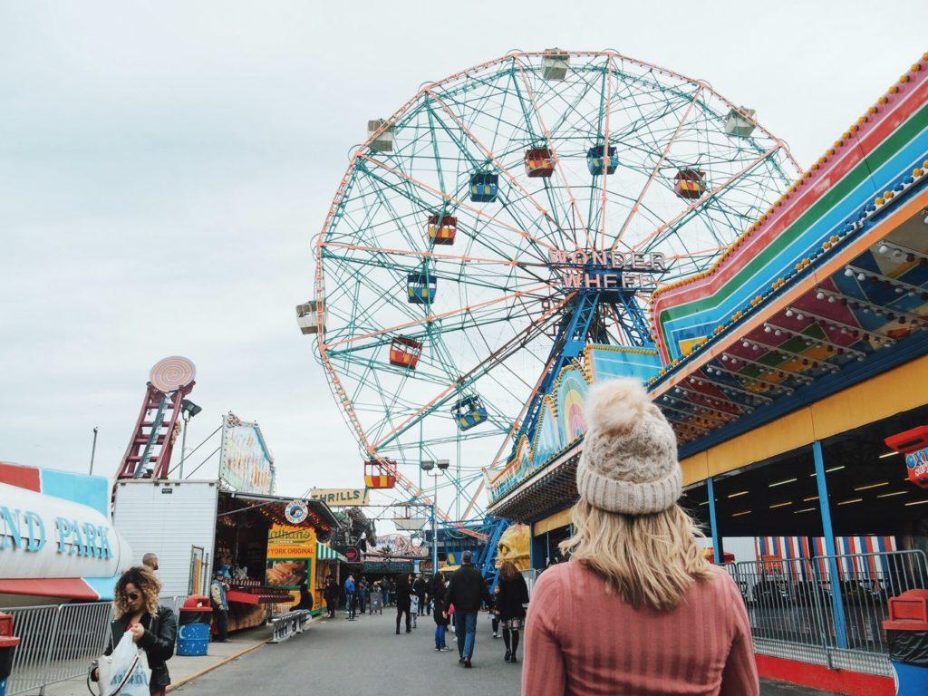 parque de diversões ny