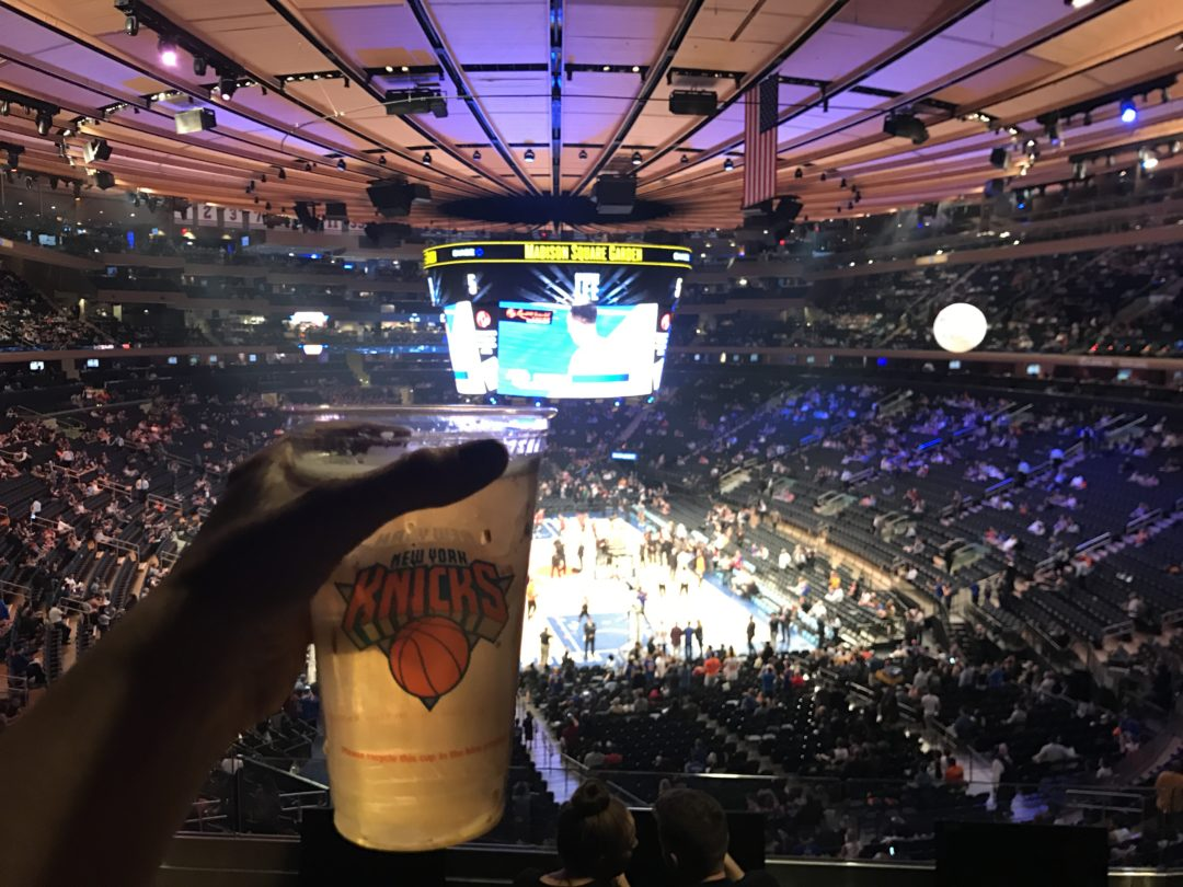 jogo de basquete em nova york