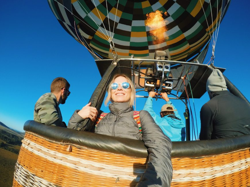 balão chapada dos veadeiros