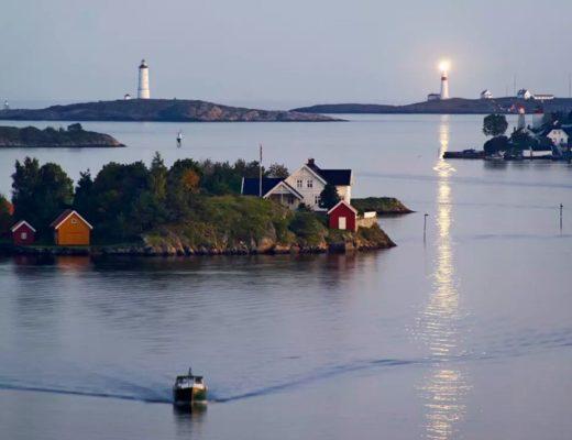 ilhas na noruega