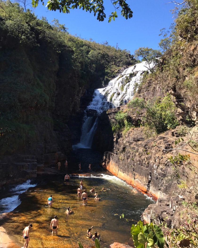 cachoeira dos couros chapada dos veadeiros