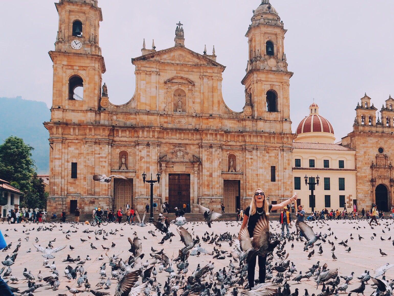 Plaza Bolivar - o que fazer em bogota colombia