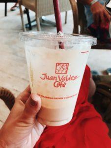 café juan valdez em cartagena