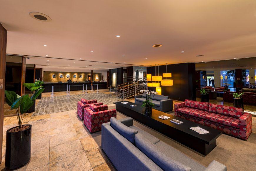 Belo Horizonte Othon Palace lobby