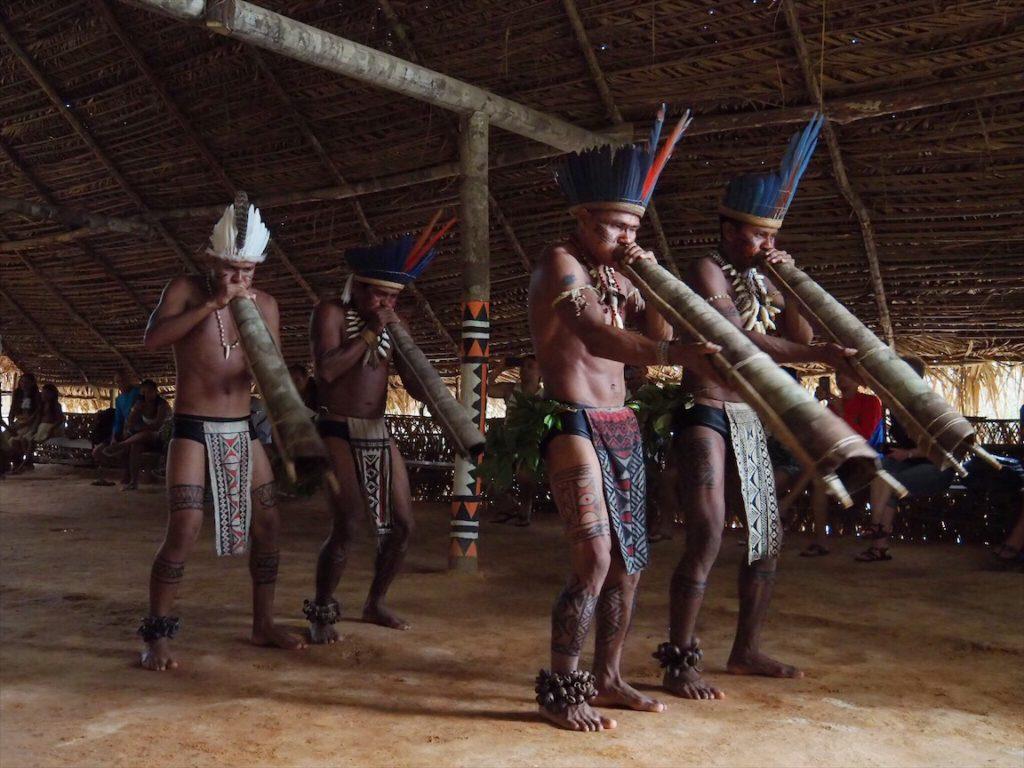 visita tribo indigena amazonia