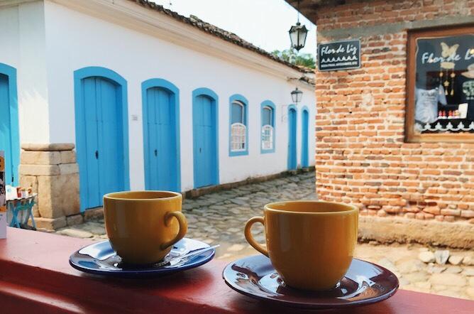cafes em paraty