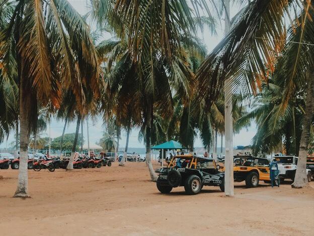 bugue na praia do gunga