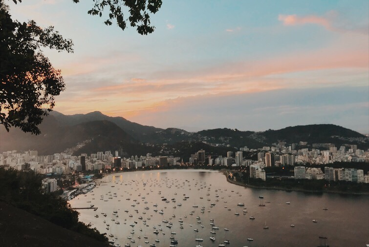 morro da urca, vista do bondinho