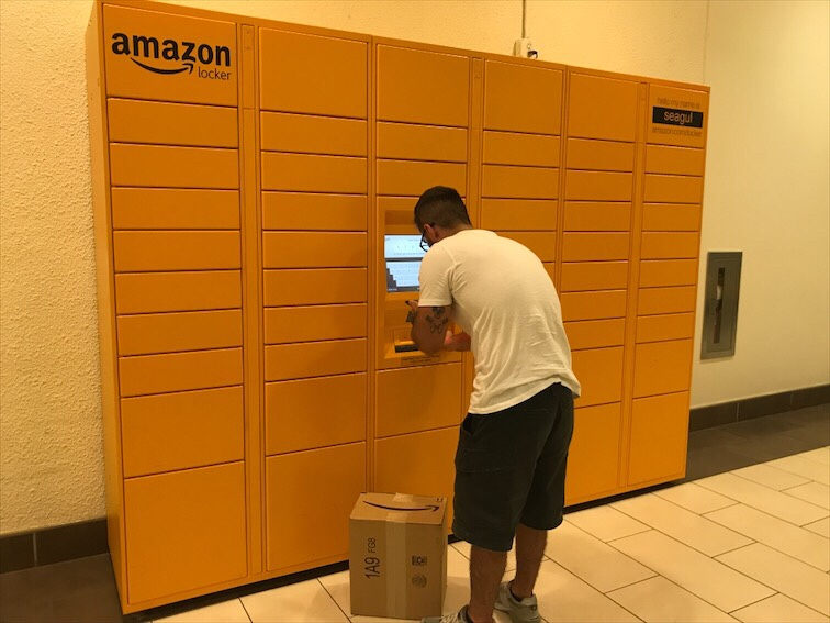 Amazon Locker Miami