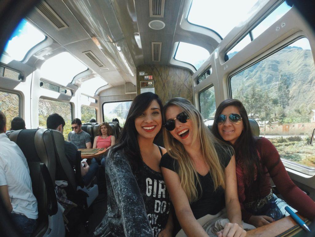 trem vistadome Machu Picchu