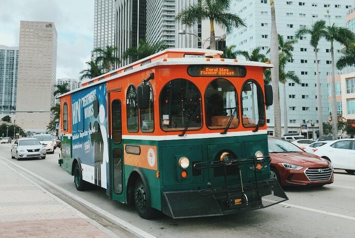 ex de transporte público em Miami