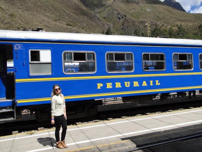 trem Perurail Para Machu Picchu