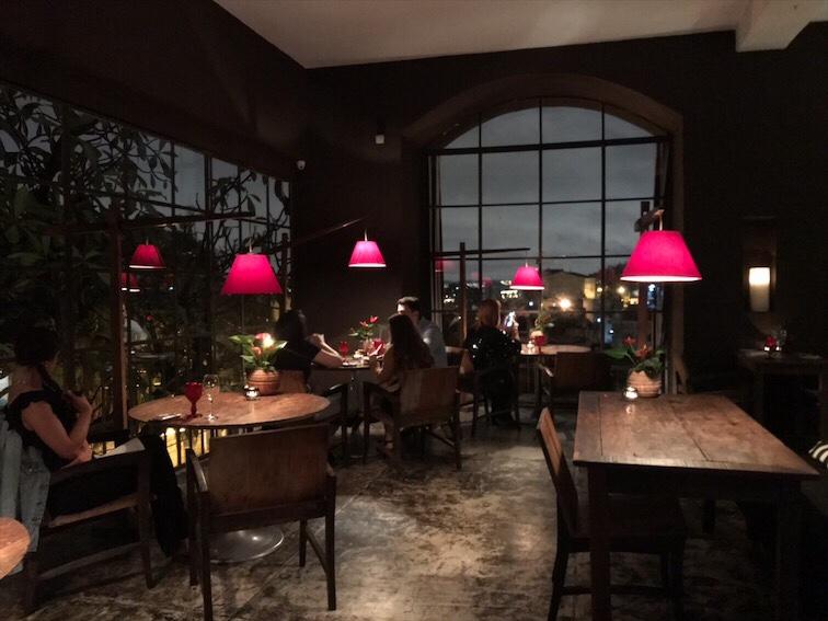 hotel santa teresa restaurante