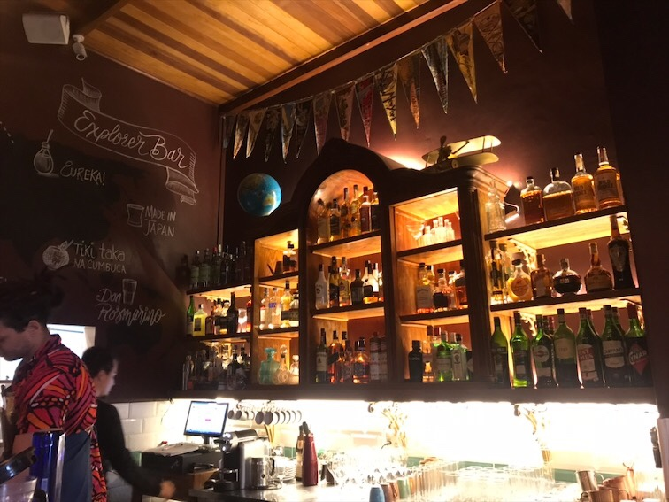 explorer bar santa teresa