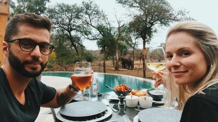 hotel para safari na africa