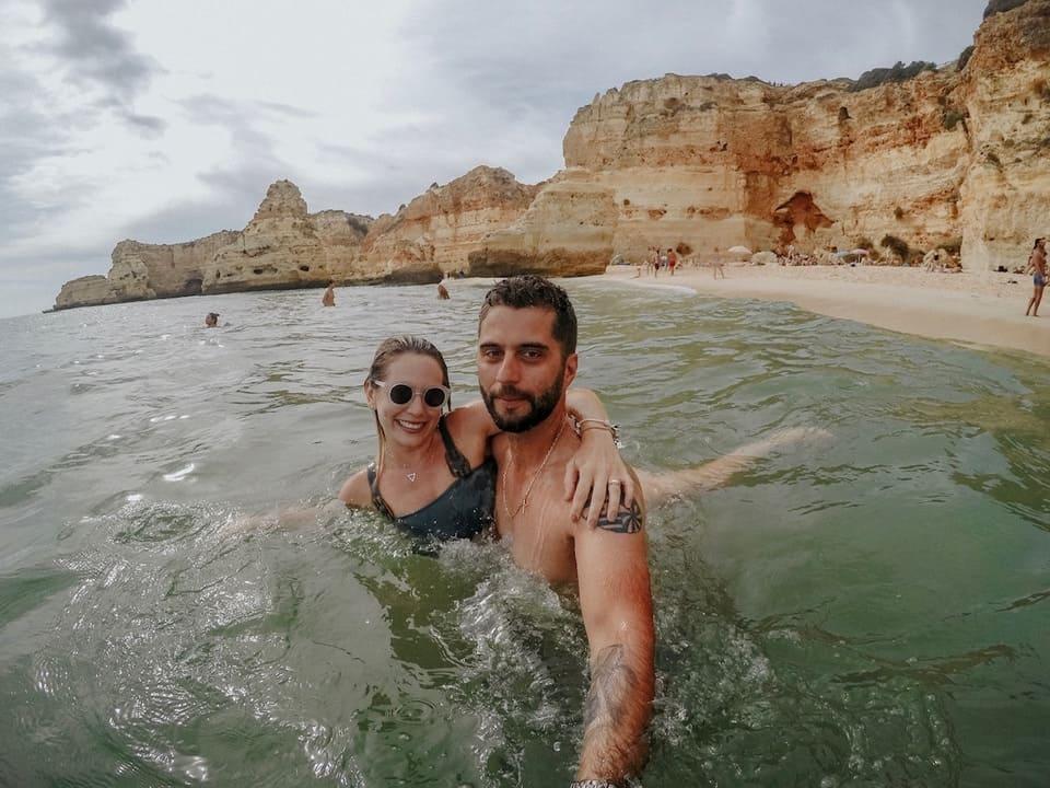 algarve portugal praia da marinha