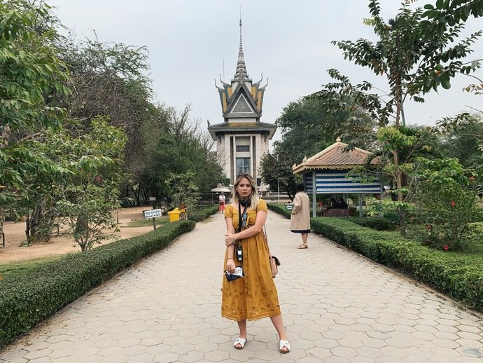 killing fields Phnom Penh