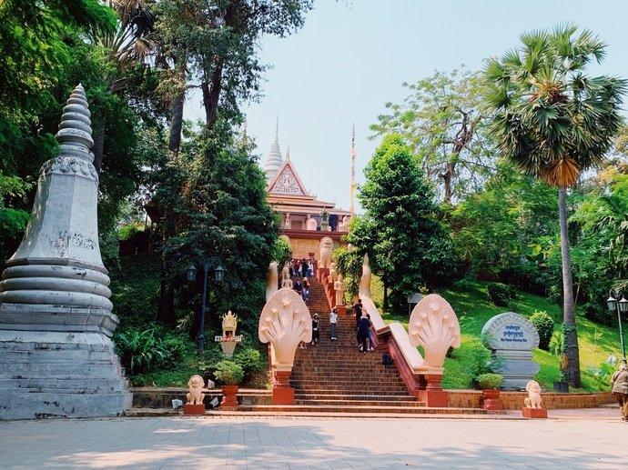 Wat Phnom camboja
